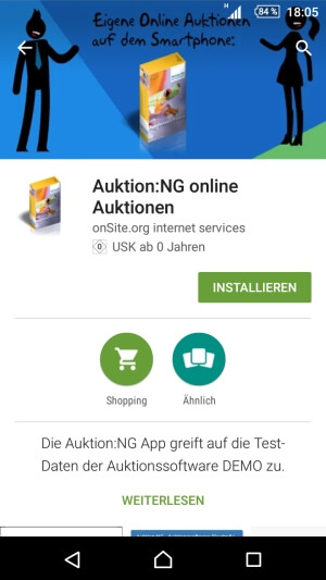Google Play Android App Installieren